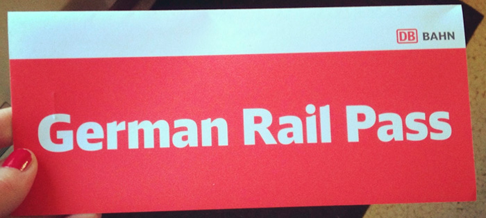 german rail pass
