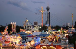 Düsseldorf-Biggest Fun Fair on the Rhine River